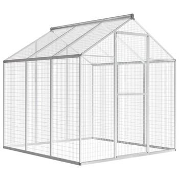 vidaXL Vanjski kavez za ptice od aluminija 183 x 178 x 194 cm
