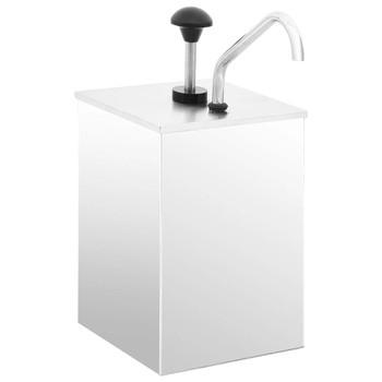 vidaXL Dozator za umak od nehrđajućeg čelika 3,5 L