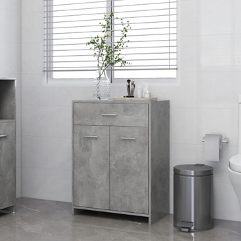 vidaXL Kupaonski ormarić siva boja betona 60 x 33 x 80 cm od iverice