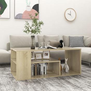 vidaXL Stolić za kavu boja hrasta sonome 100 x 50 x 40 cm od iverice