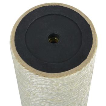 vidaXL Grebalica za mačke 8 x 60 cm 8 mm bež