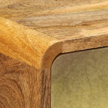 vidaXL Komoda od masivnog drva manga 90 x 30 x 77 cm