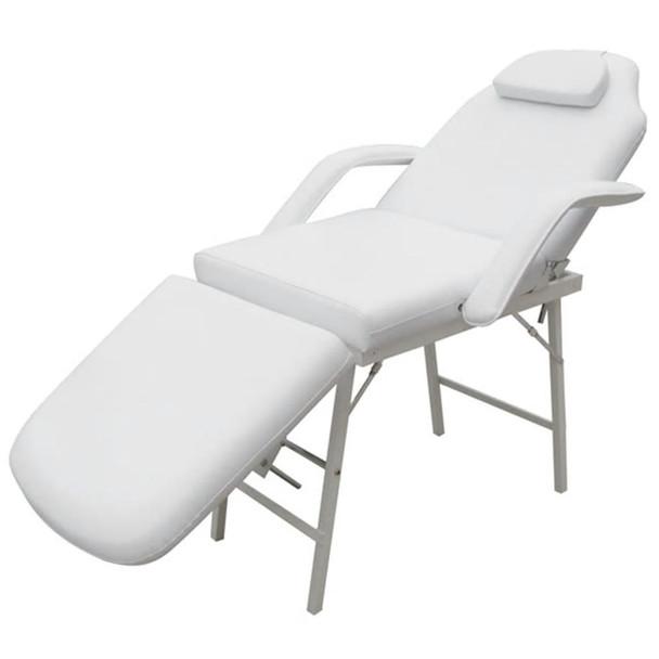 Bijela masažna, kozmeticka fotelja