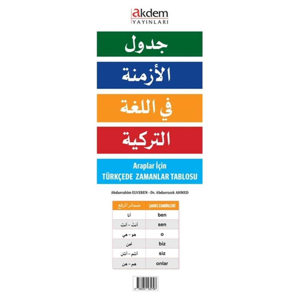 جدول الأزمنة في اللغة التركية
