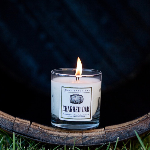Charred Oak Candle