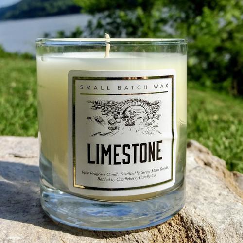 Limestone Candle