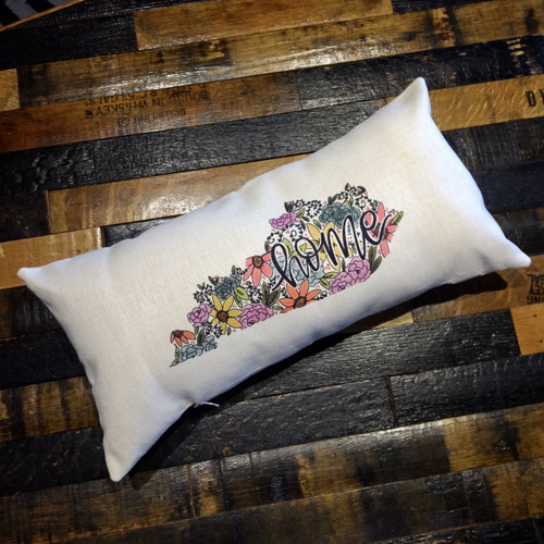 Floral Home Kentucky Lumbar Pillow