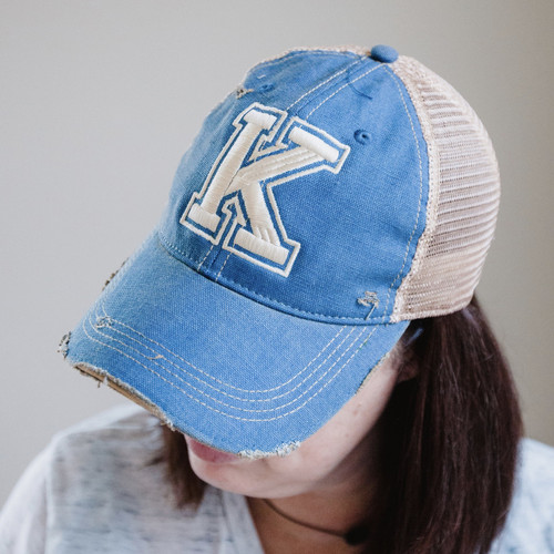 Distressed-Cool K Hat