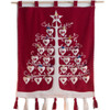 Jan Constantine Red Alpine Advent Tree