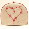 Constantine Heart Tea Cosy (Cream)