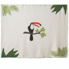 Jan Constantine Tropical Toucan Wall Hanging (Cream)