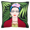 The Jan Constantine Frida Kahlo Cushion (Black)