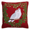 Jan Constantine Turtle Doves Cushion (Red)