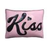 Sequin Glam Rock 'Kiss' Cushion (Pink)