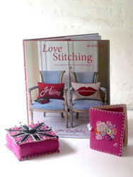 Jan Launches her Second Embroidery Book.