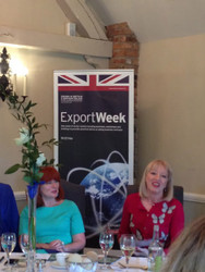 Export Week Talk for Creative Business Women.