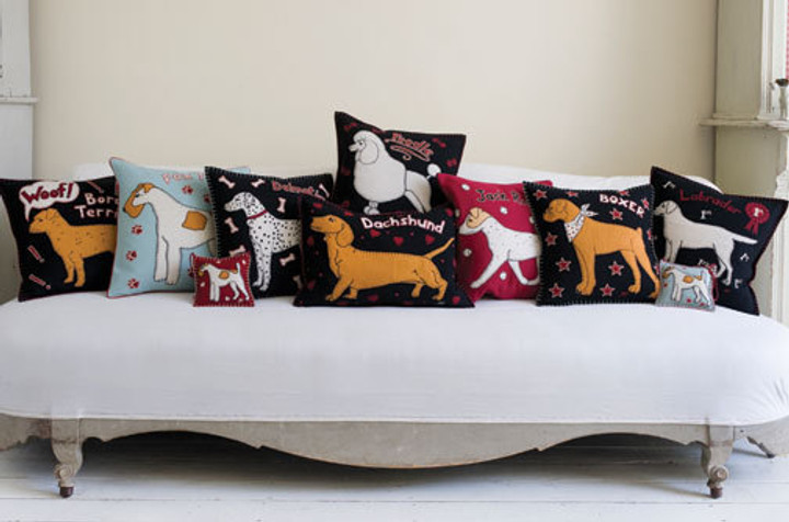 Dogs cushions, top dog collection