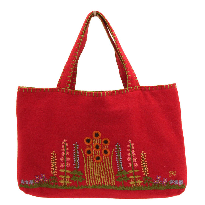 Country Garden Bag (Red)