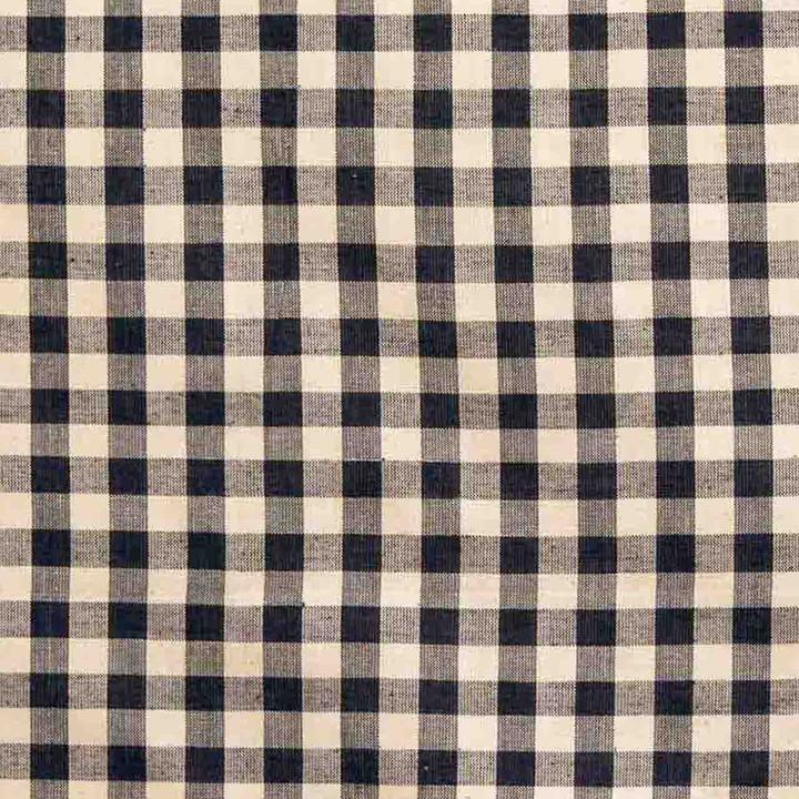 Jan Constantine Gingham Fabric (Black)