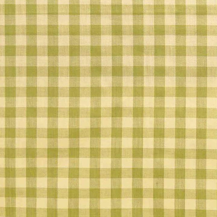 Jan Constantine Gingham Fabric (Light Green)