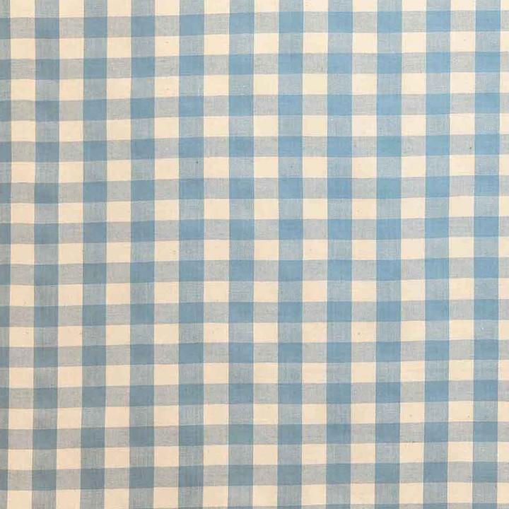 Jan Constantine Gingham Fabric (Light Blue)