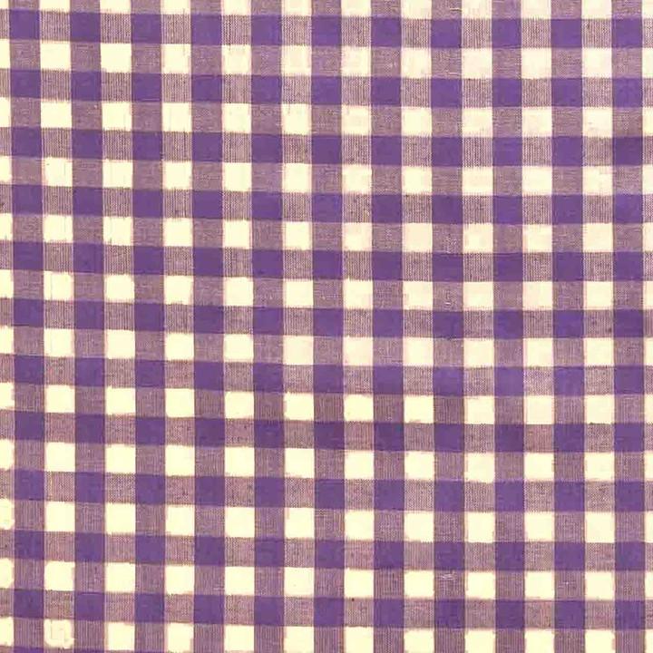 Jan Constantine Gingham Fabric (Purple)
