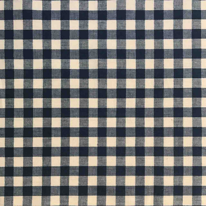 Jan Constantine Gingham Fabric (Navy)