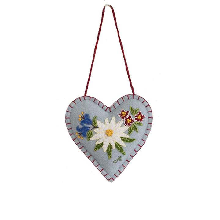 Jan Constantine Edelweiss Heart Spice Heart (Duck Egg Blue)
