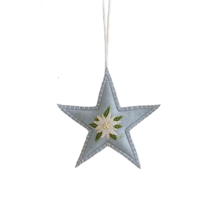 Edelweiss Spice Star (Duck Egg Blue)