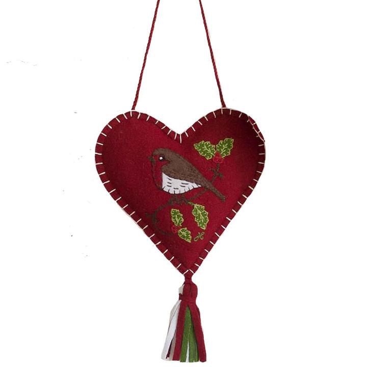 Jan Constantine Robin Heart Spice Heart (Red)