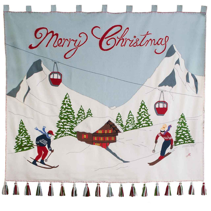 Jan Constantine Alpine Christmas Wall Hanging