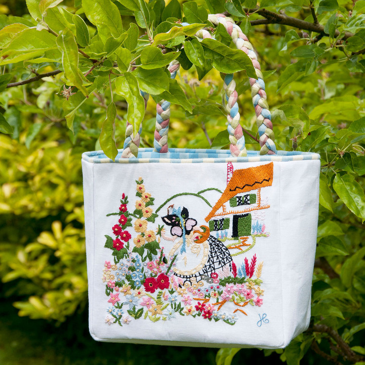 Cottage Lady Bag (White)