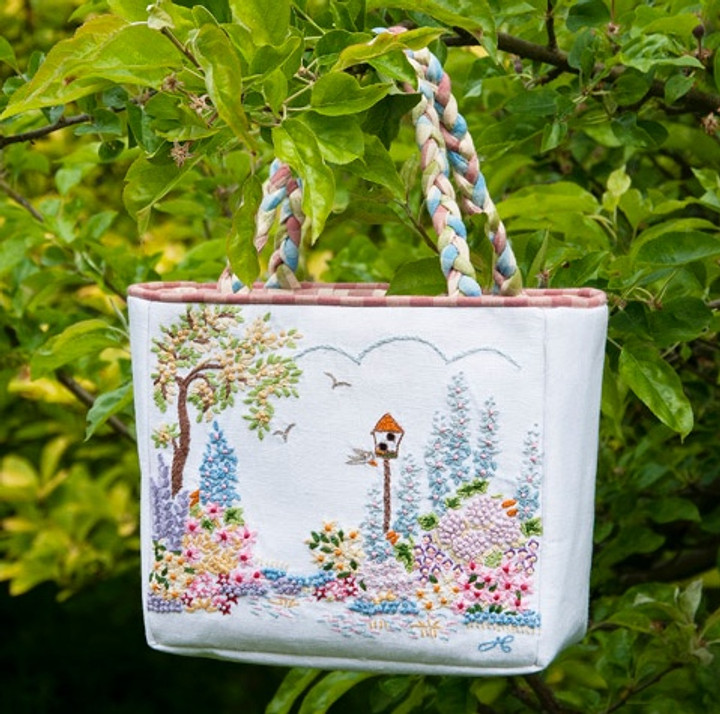Cottage Garden Bag (White)