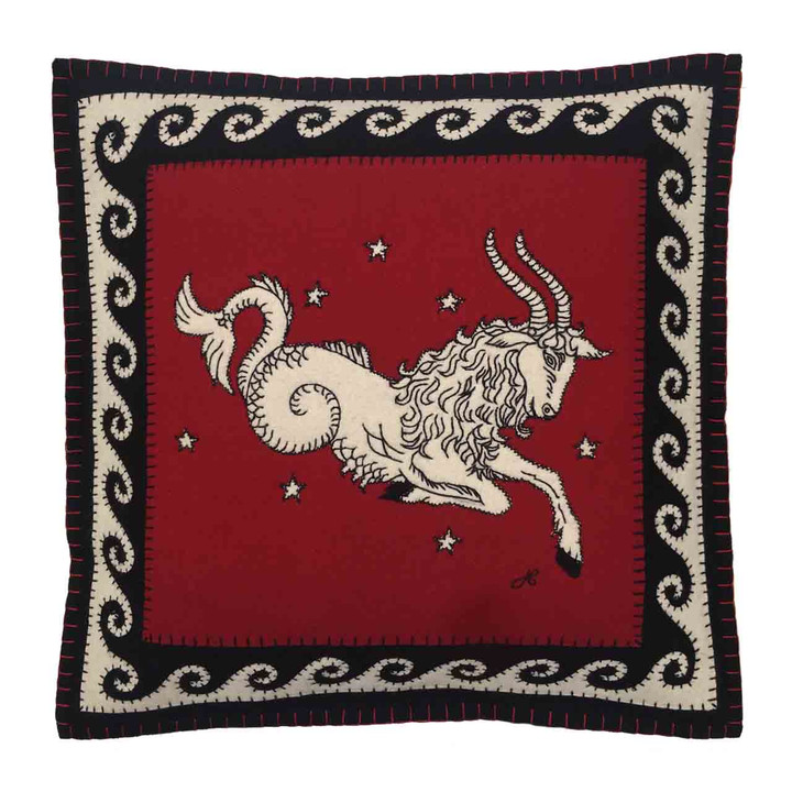 Capricorn Cushion (Black)