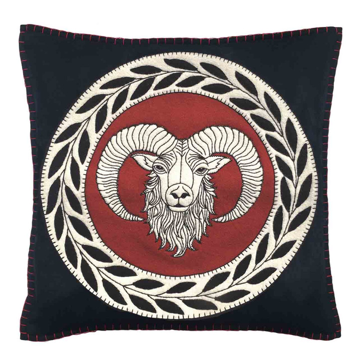 Aries Cushion ( Black)