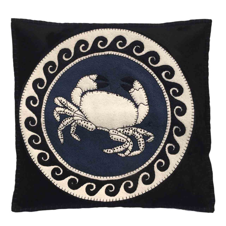 Cancer Cushion (Black)