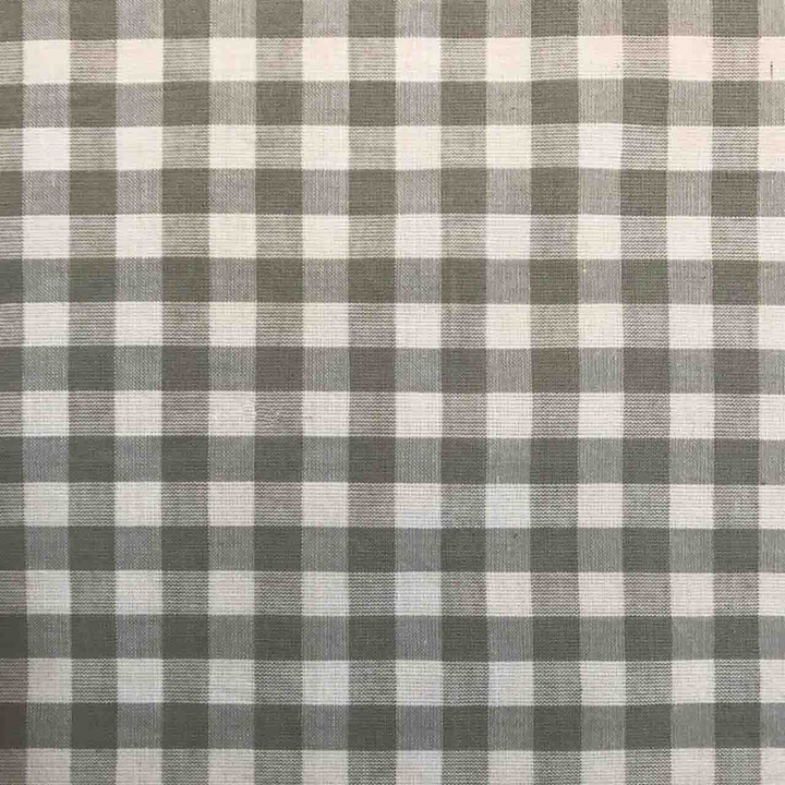 Jan Constantine  Gingham Fabric (Taupe)