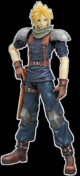 Final Fantasy VII - Crisis Core Play Arts Cloud Strife