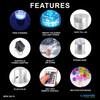 Bubble Tube Water Feature 120cm High - LED Sensory