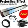 SAVER 1500P - Wate Wall Kit Projecting Sheer Descent Curtain Effect