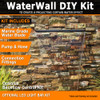 projecting water wall kit