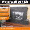 Luponds 1200 wide Projecting water wall kit