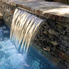 900mm Wide Spillway Water Wall Blade - 35mm Lip