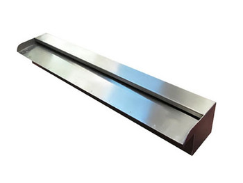 1200mm Wide Spillway Water Wall Blade - 35mm Lip