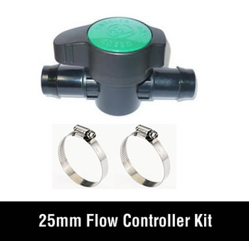 Flow Controller 25mm Set