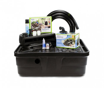 Backyard pond fountain kit