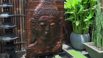 Buddha Panel Water Feature