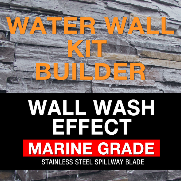 luponds water wall kit