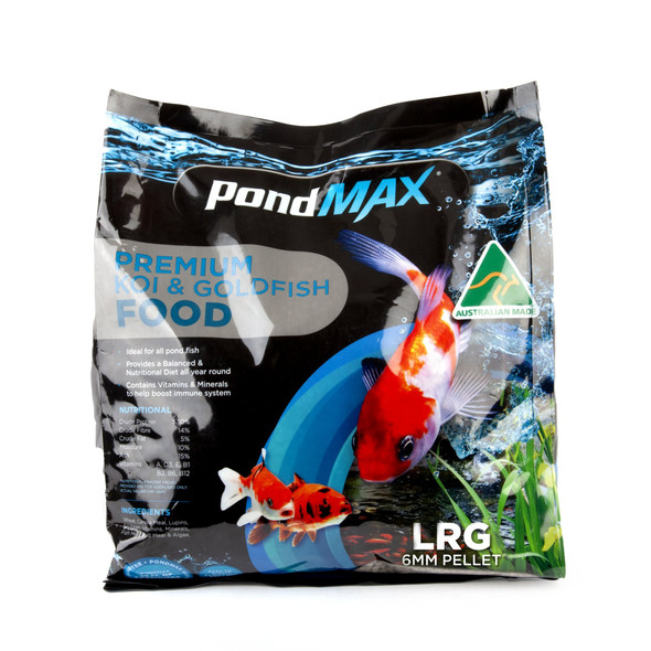 PondMAX Fish food pellets 6mm -10kg