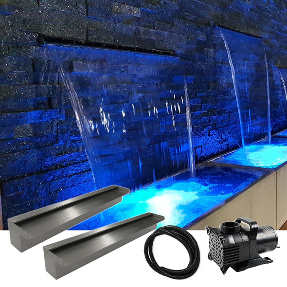 Luponds Multi Units Projection Effect - 900mm/900mm Spillway Kit